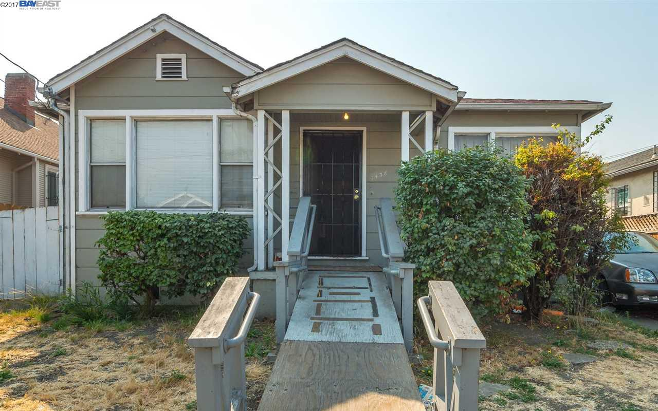 Single Family Home for Sale at 1438 82Nd Avenue 1438 82Nd Avenue Oakland, California 94621 United States