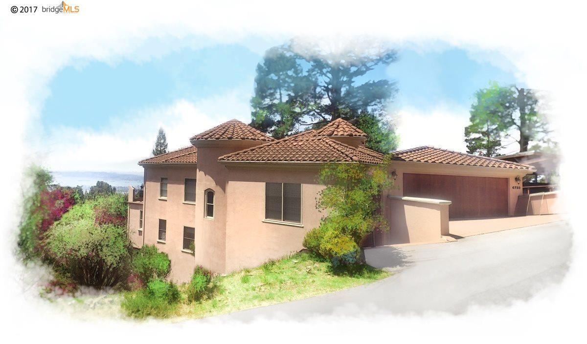 Einfamilienhaus für Verkauf beim 6733 Longwalk Drive Oakland, Kalifornien 94611 Vereinigte Staaten