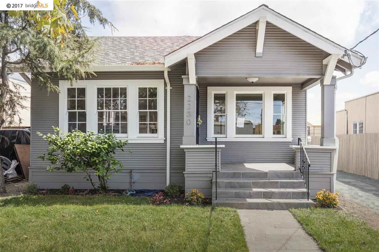 Einfamilienhaus für Verkauf beim 2230 Havenscourt Blvd Oakland, Kalifornien 94605 Vereinigte Staaten