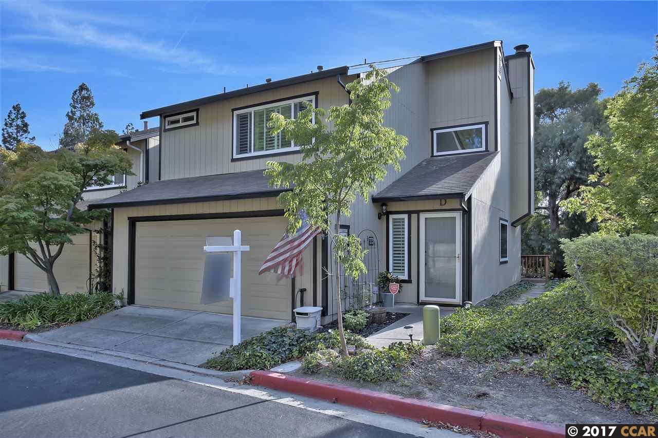 Maison accolée pour l Vente à 2469 Heatherleaf Lane Martinez, Californie 94553 États-Unis