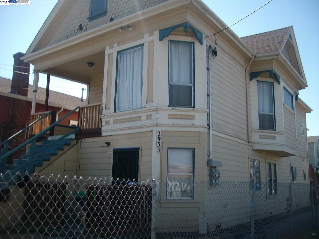 Multi-Family Home for Rent at 2933 Linden Street 2933 Linden Street Oakland, California 94608 United States