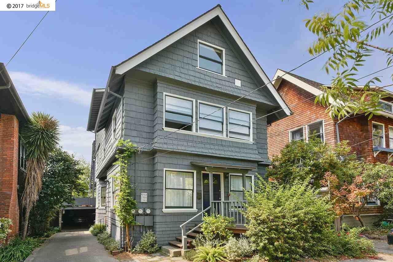 Appartement en copropriété pour l Vente à 2906 Hillegass Avenue Berkeley, Californie 94705 États-Unis