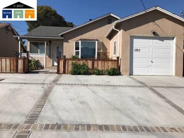 Maison unifamiliale pour l Vente à 1353 Highland Blvd Hayward, Californie 94542 États-Unis