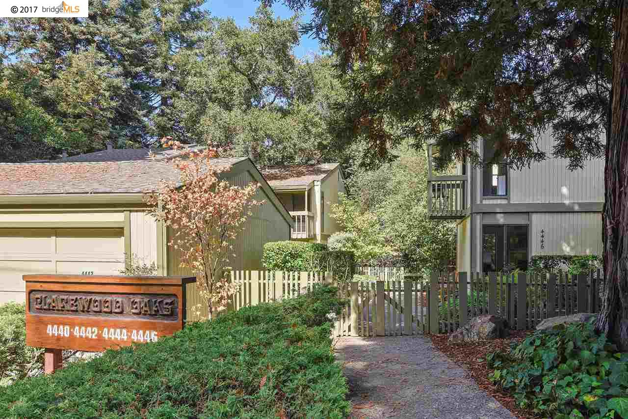 Townhouse for Sale at 4446 Clarewood Drive 4446 Clarewood Drive Oakland, California 94618 United States