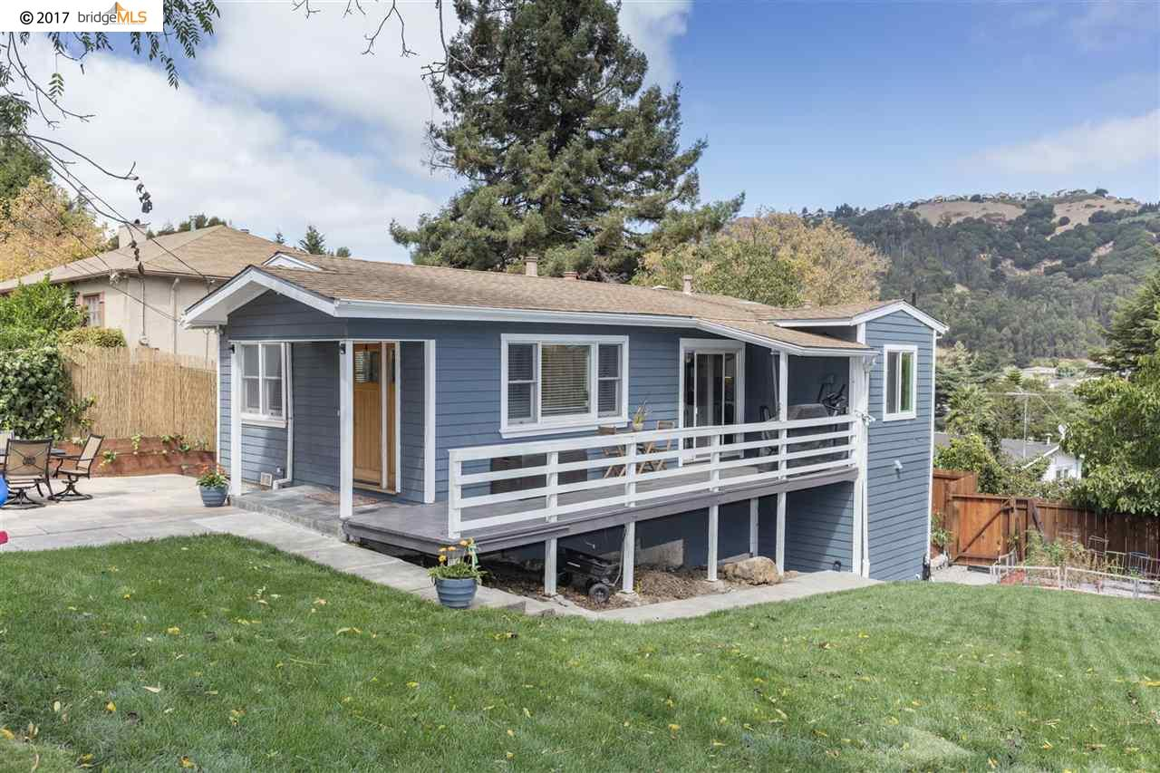 獨棟家庭住宅 為 出售 在 7964 Greenly Drive 7964 Greenly Drive Oakland, 加利福尼亞州 94605 美國