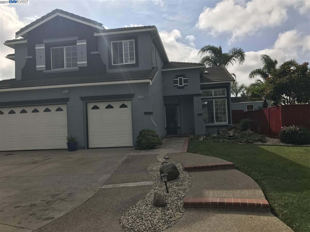 Single Family Home for Sale at 5716 Del Monte Court 5716 Del Monte Court Union City, California 94587 United States