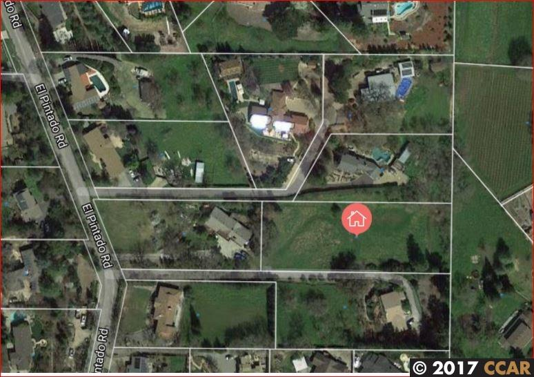 Land for Sale at 554 El Pintado Road Danville, California 94526 United States