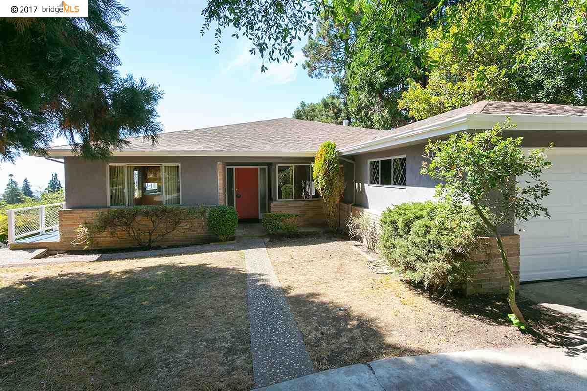 Частный односемейный дом для того Продажа на 176 ARLINGTON AVENUE Kensington, Калифорния 94707 Соединенные Штаты