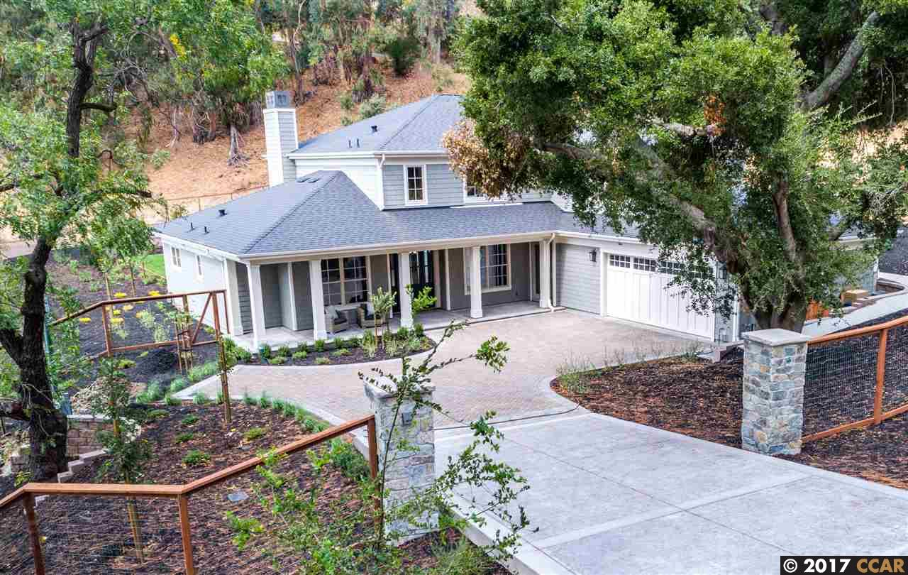 Single Family Home for Sale at 1601 Reliez Valley Road 1601 Reliez Valley Road Lafayette, California 94549 United States
