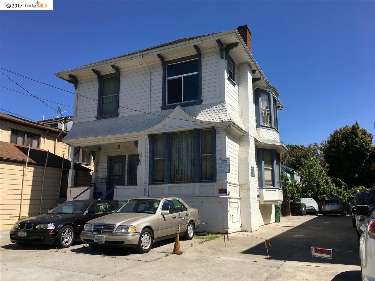Многосемейный дом для того Продажа на 1186 Park Street 1186 Park Street Alameda, Калифорния 94501 Соединенные Штаты