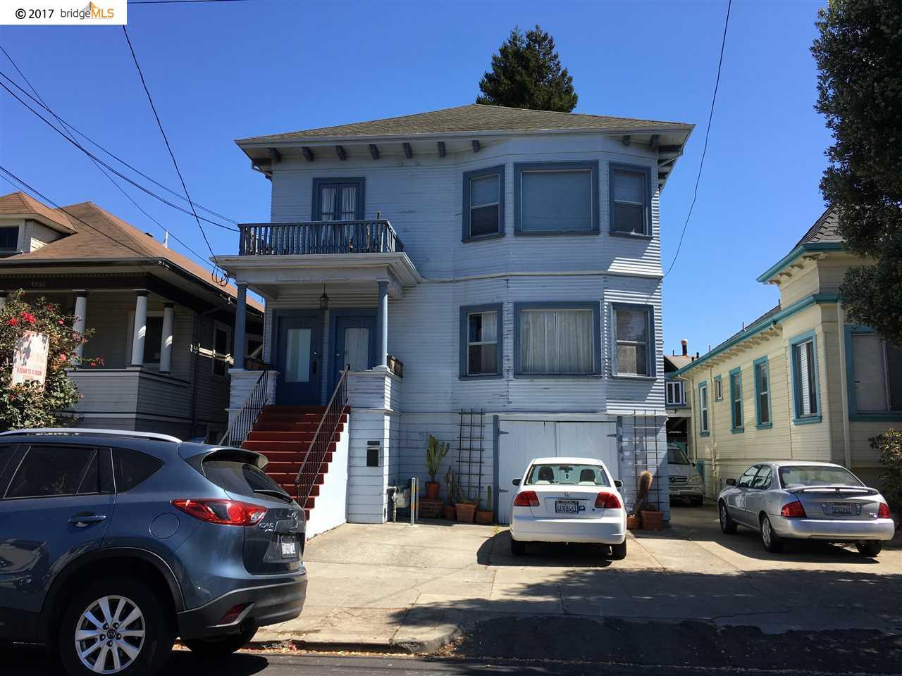 Многосемейный дом для того Продажа на 1306 Pearl Street 1306 Pearl Street Alameda, Калифорния 94501 Соединенные Штаты