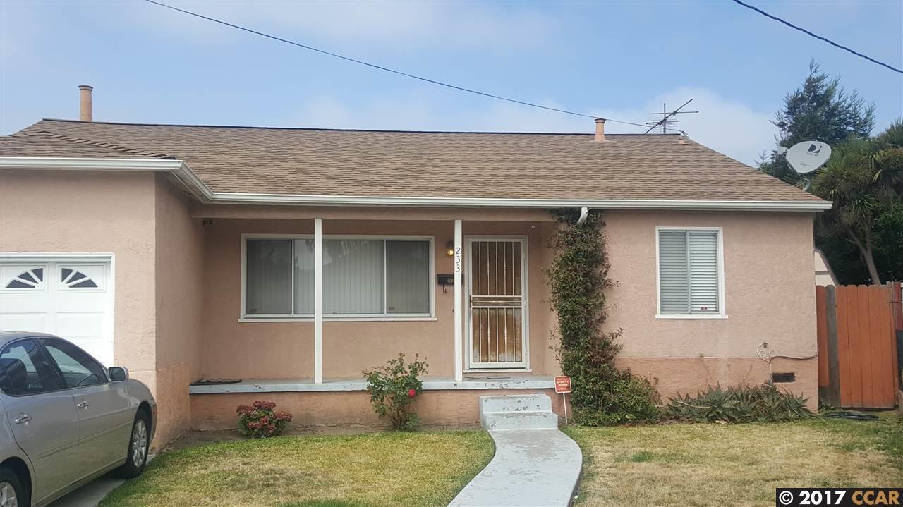 233 S 44TH, RICHMOND, CA 94803