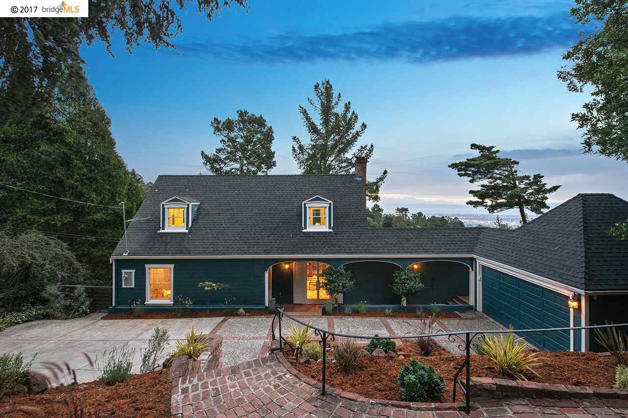 Einfamilienhaus für Verkauf beim 71 Camelford Place Oakland, Kalifornien 94611 Vereinigte Staaten