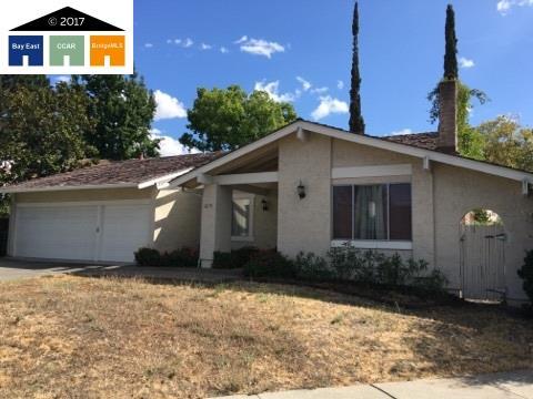 Частный односемейный дом для того Продажа на 2270 Bromfield Walnut Creek, Калифорния 94596 Соединенные Штаты
