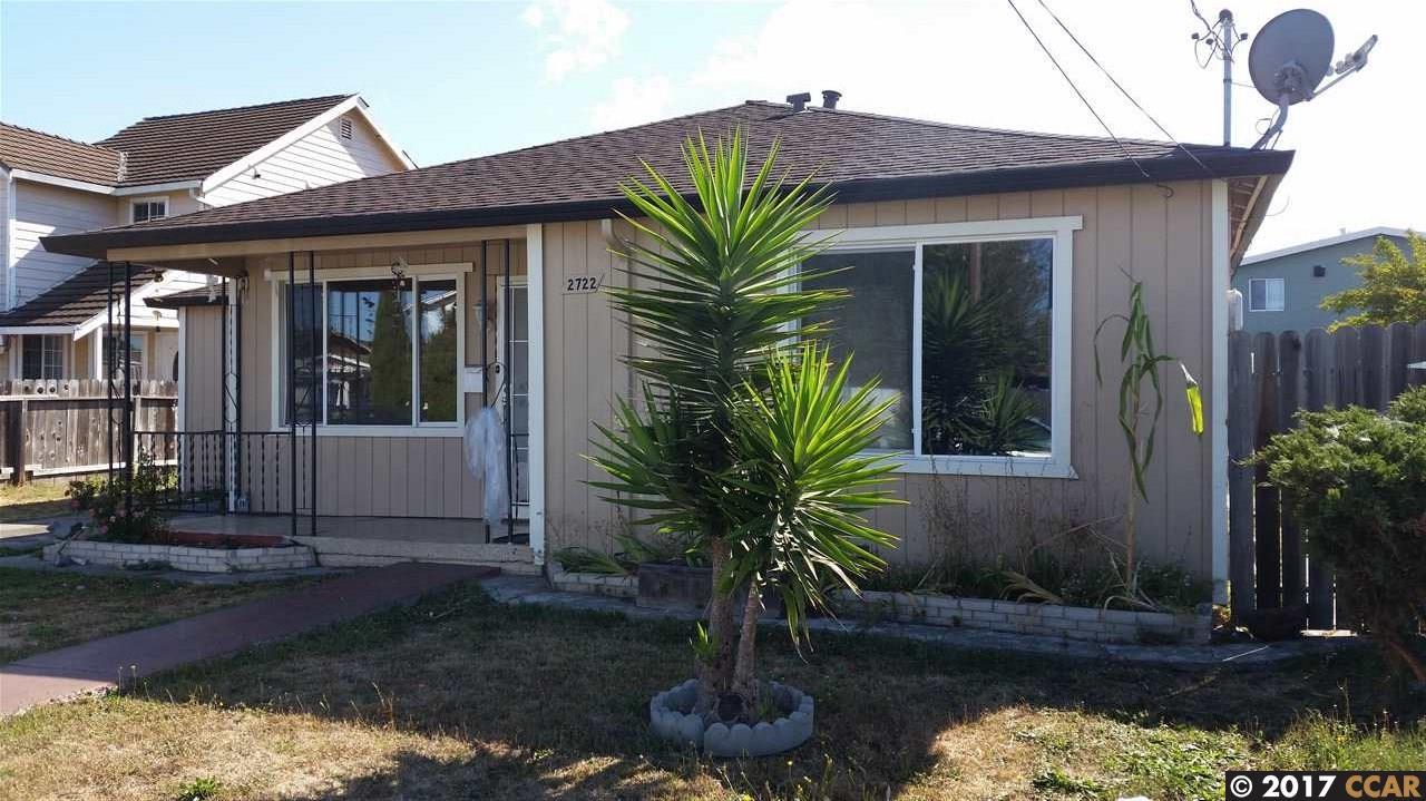 واحد منزل الأسرة للـ Sale في 2722 15Th Street 2722 15Th Street San Pablo, California 94806 United States