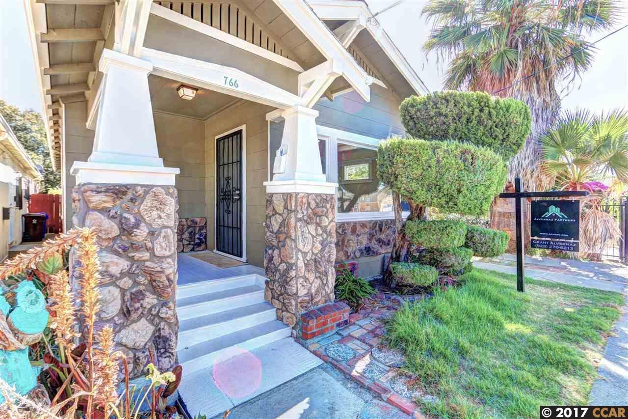 Casa Unifamiliar por un Venta en 766 8Th Street 766 8Th Street Richmond, California 94801 Estados Unidos