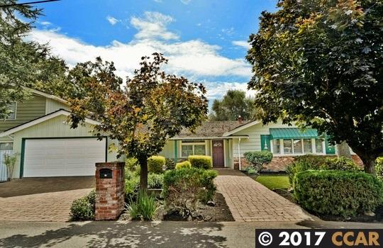 Casa Unifamiliar por un Venta en 33 Jerome Court Walnut Creek, California 94596 Estados Unidos