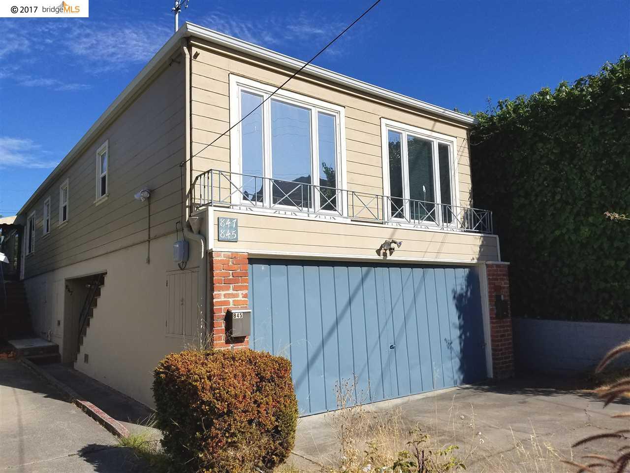 二世帯住宅 のために 売買 アット 845 San Carlos Avenue 845 San Carlos Avenue Albany, カリフォルニア 94706 アメリカ合衆国