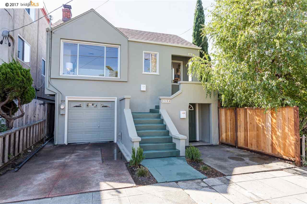 واحد منزل الأسرة للـ Sale في 1124 Portland Avenue 1124 Portland Avenue Albany, California 94706 United States