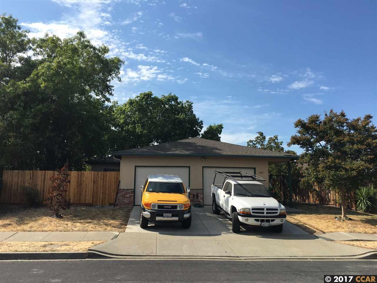 Multi-Family Home for Sale at 1427 Balhan Drive 1427 Balhan Drive Concord, California 94521 United States