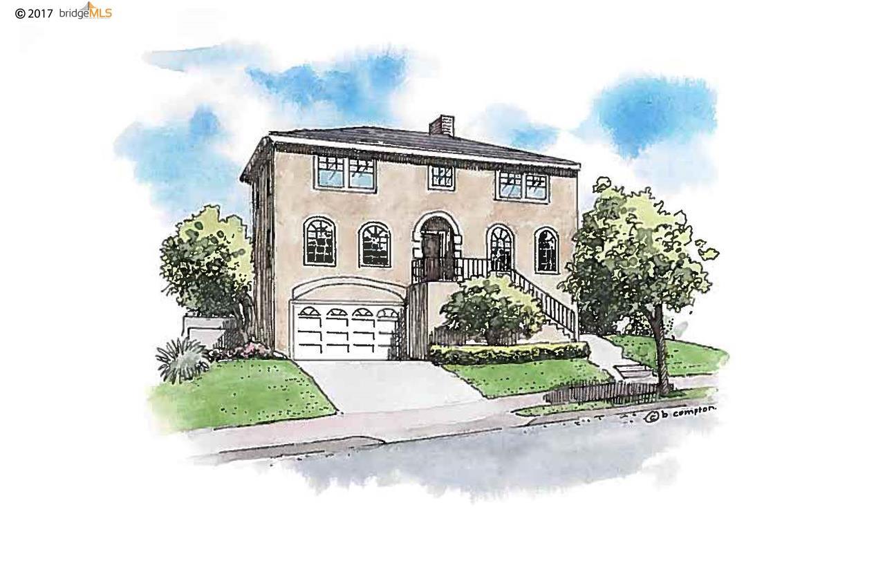 Частный односемейный дом для того Продажа на 105 Dale Avenue 105 Dale Avenue Piedmont, Калифорния 94610 Соединенные Штаты