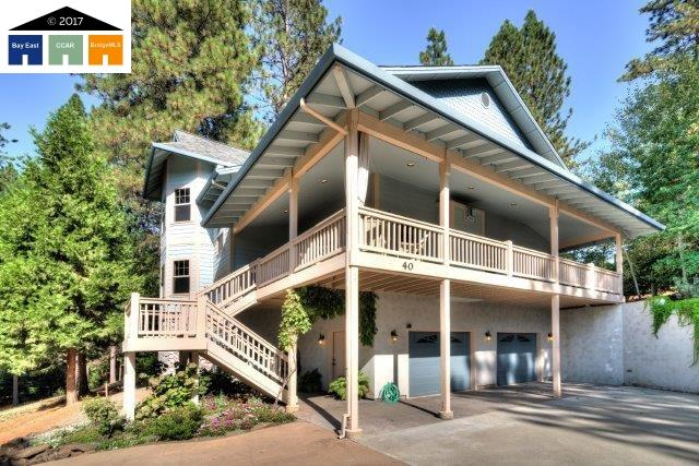 Single Family Home for Sale at 40 Foxglove Court 40 Foxglove Court Murphys, California 95247 United States