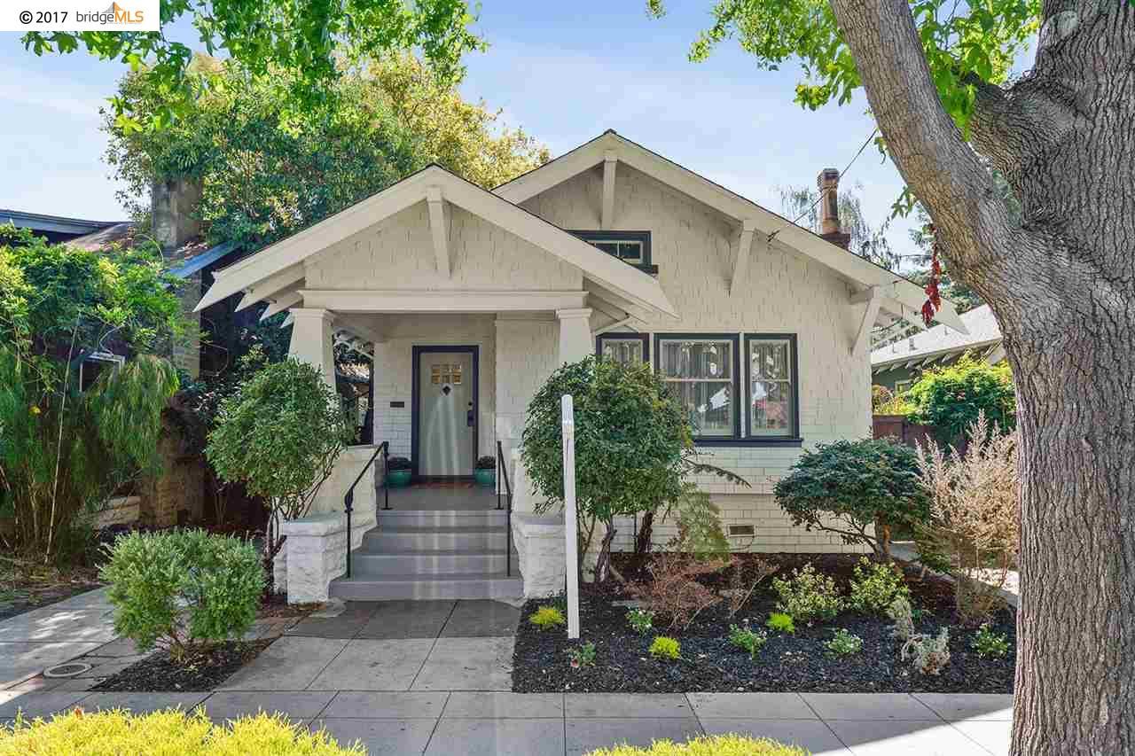 واحد منزل الأسرة للـ Sale في 463 Hudson Street 463 Hudson Street Oakland, California 94618 United States
