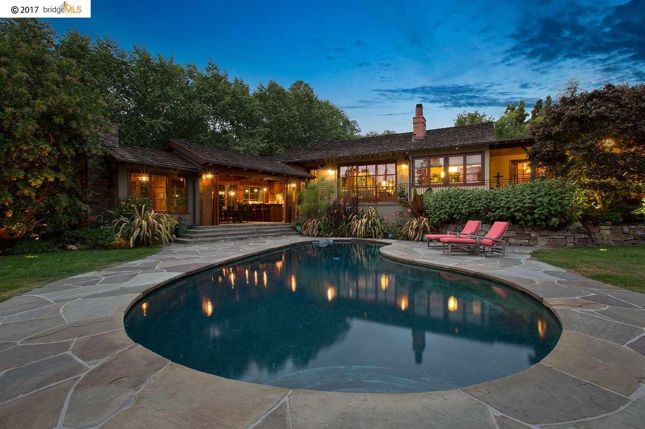 Частный односемейный дом для того Продажа на 25 Glen Alpine Road 25 Glen Alpine Road Piedmont, Калифорния 94611 Соединенные Штаты