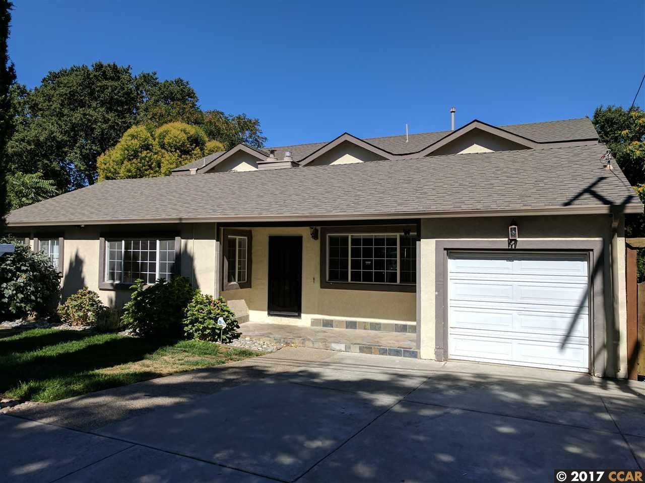 Einfamilienhaus für Mieten beim 1931 Pear Drive 1931 Pear Drive Concord, Kalifornien 94518 Vereinigte Staaten