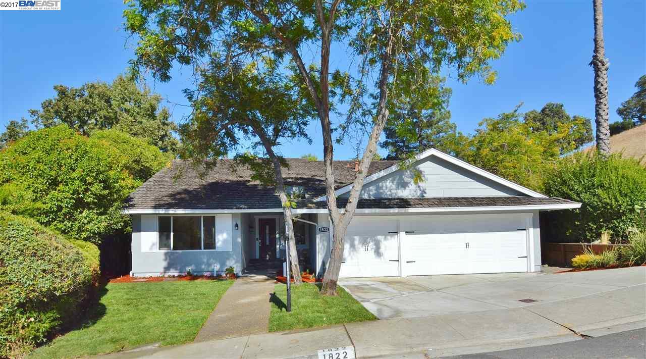 一戸建て のために 売買 アット 1822 Whitecliff Way 1822 Whitecliff Way Walnut Creek, カリフォルニア 94596 アメリカ合衆国