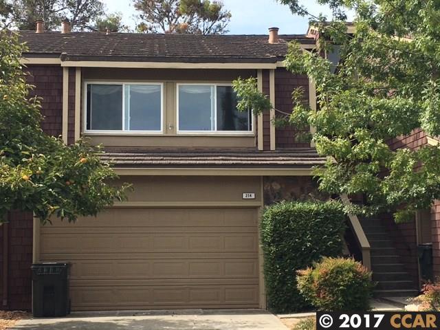 Maison accolée pour l Vente à 214 Thistle Circle 214 Thistle Circle Martinez, Californie 94553 États-Unis