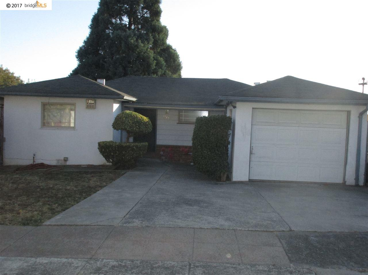 Single Family Home for Rent at 1343 Merced Street 1343 Merced Street Richmond, California 94804 United States