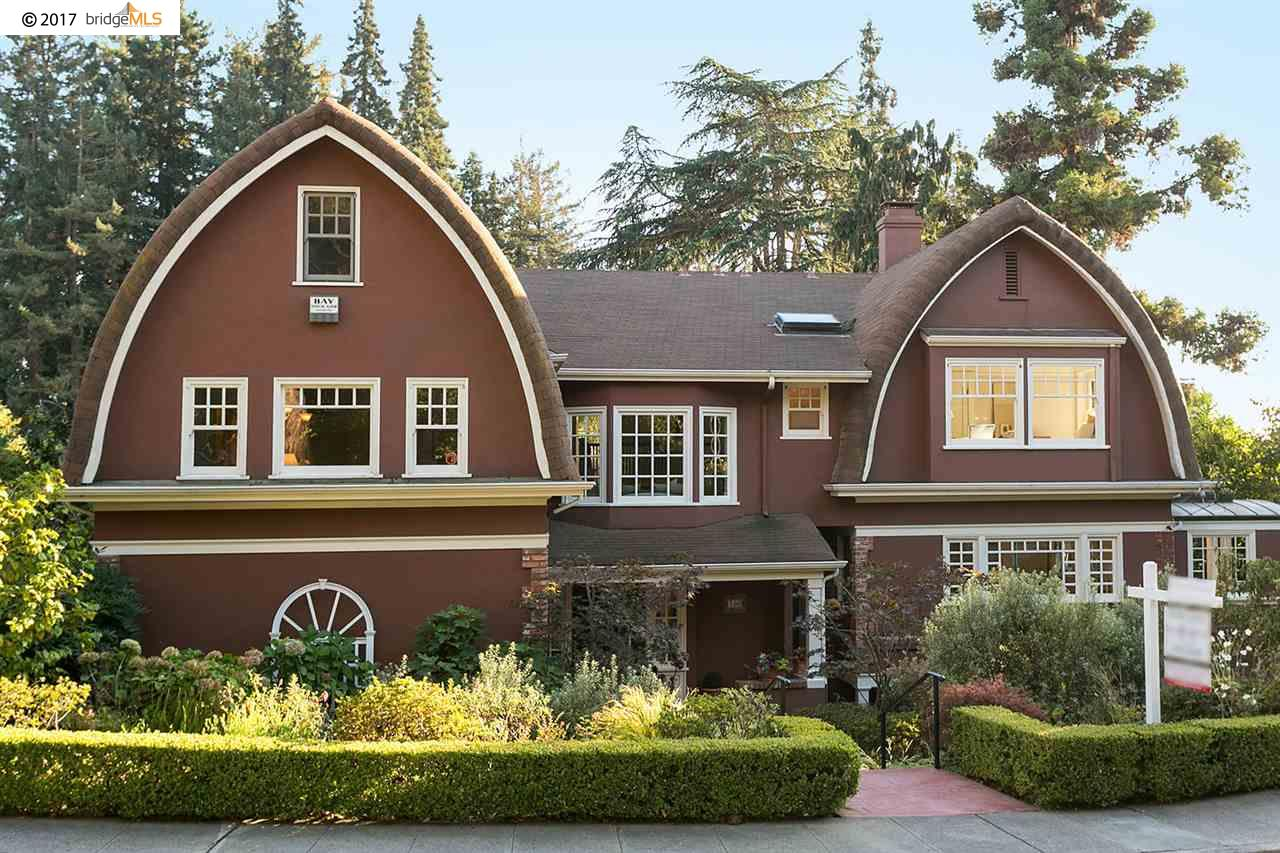 Частный односемейный дом для того Продажа на 360 Mountain Avenue 360 Mountain Avenue Piedmont, Калифорния 94611 Соединенные Штаты