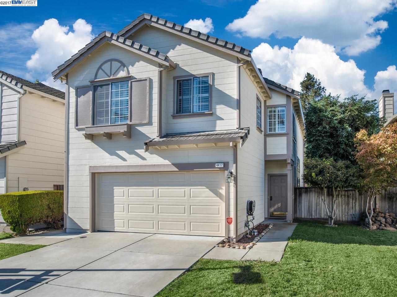 Частный односемейный дом для того Продажа на 4417 Calypso Ter 4417 Calypso Ter Fremont, Калифорния 94555 Соединенные Штаты