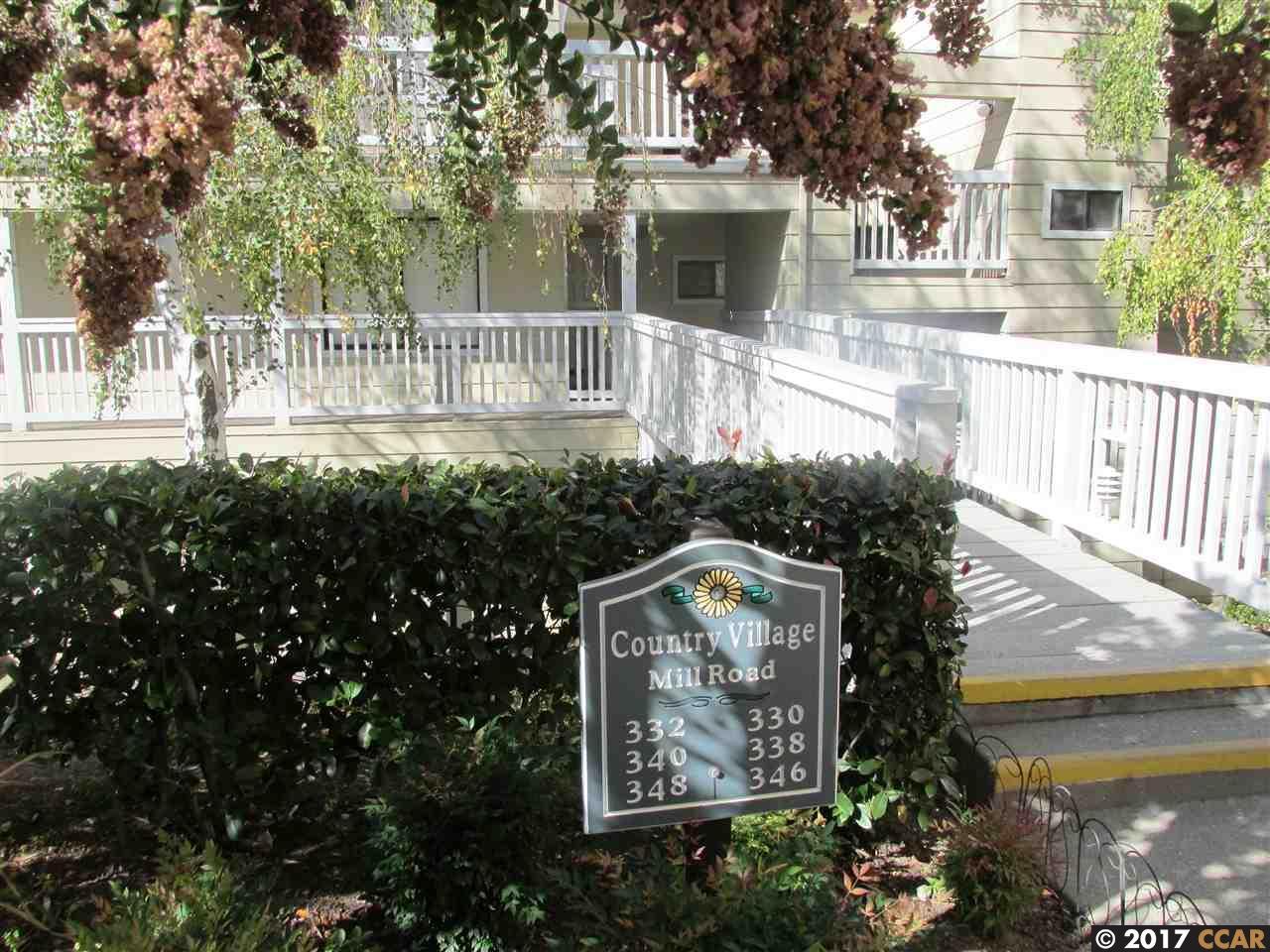 Appartement en copropriété pour l Vente à 348 Mill Road 348 Mill Road Martinez, Californie 94553 États-Unis