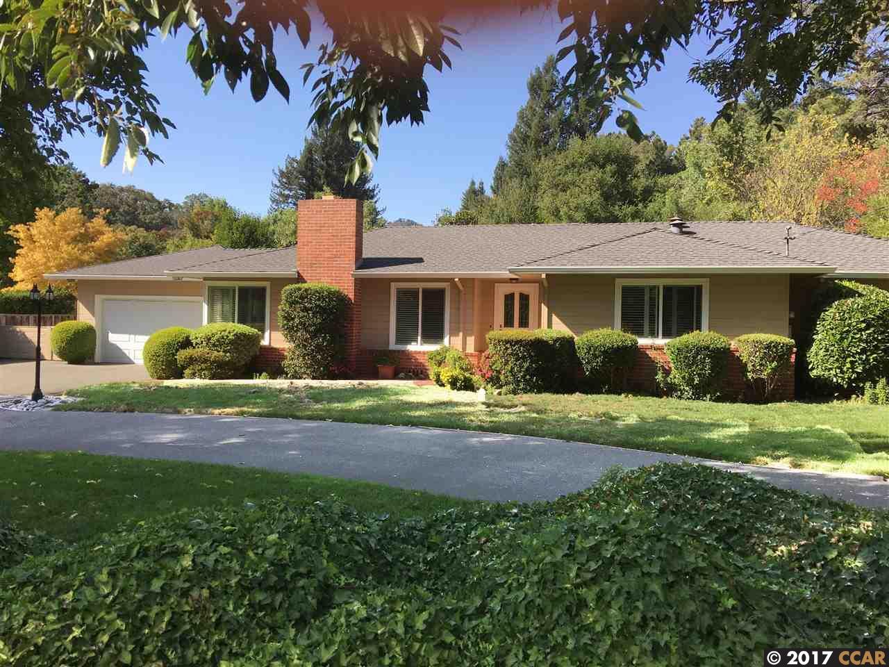 Casa Unifamiliar por un Venta en 3384 Angelo Street 3384 Angelo Street Lafayette, California 94549 Estados Unidos
