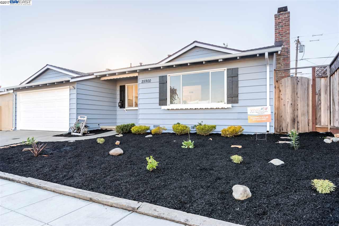 Maison unifamiliale pour l Vente à 25900 Peterman Avenue 25900 Peterman Avenue Hayward, Californie 94545 États-Unis