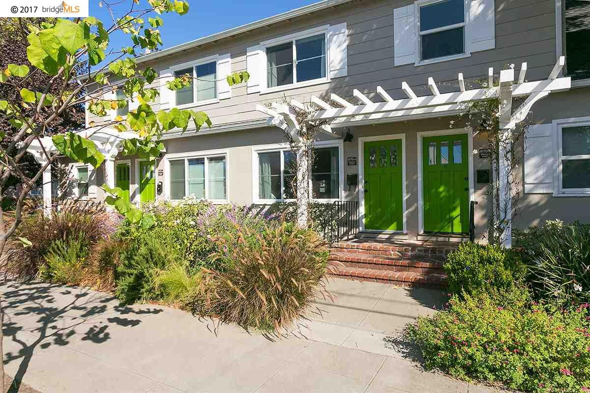 Condominium for Sale at 4170 EMERALD STREET 4170 EMERALD STREET Oakland, California 94609 United States