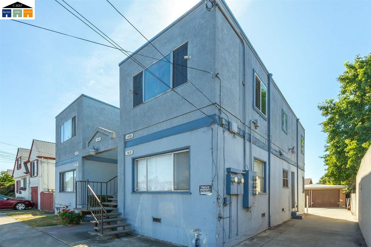 Casa Multifamiliar por un Venta en 2418 Roosevelt Avenue 2418 Roosevelt Avenue Richmond, California 94804 Estados Unidos