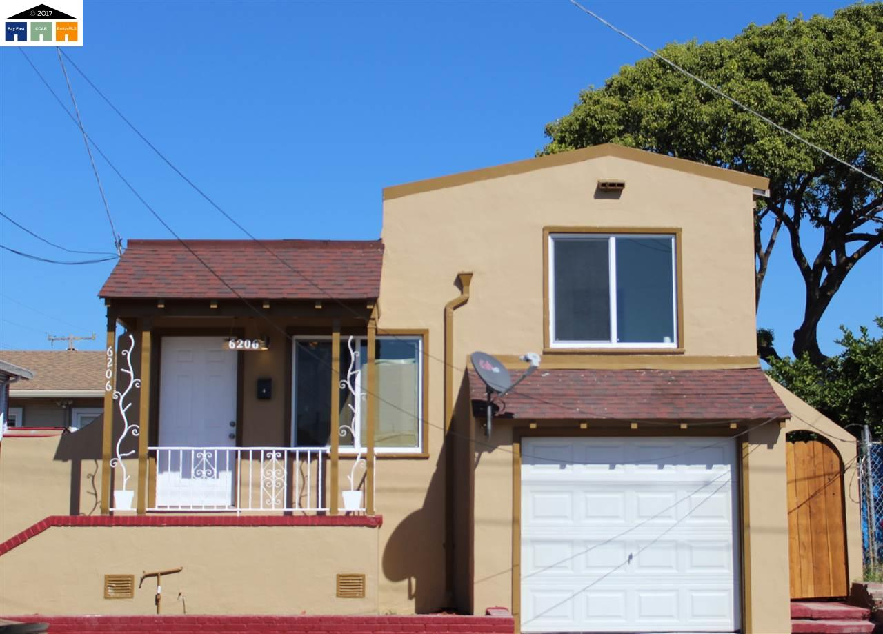 Single Family Home for Sale at 6206 harmon 6206 harmon Oakland, California 94621 United States