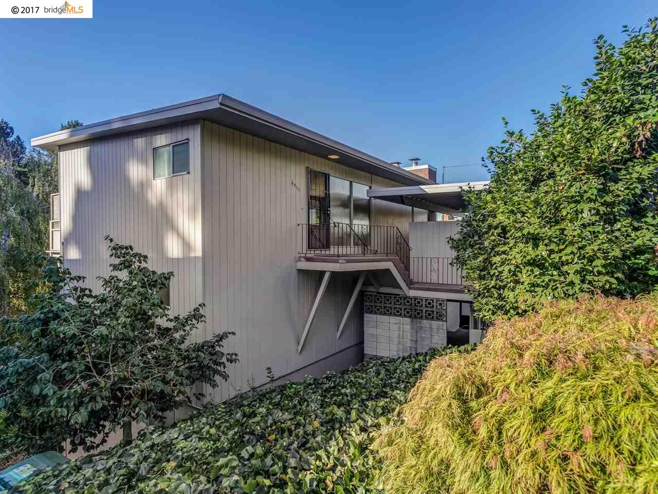 Single Family Home for Sale at 4955 Harbord Drive 4955 Harbord Drive Oakland, California 94618 United States
