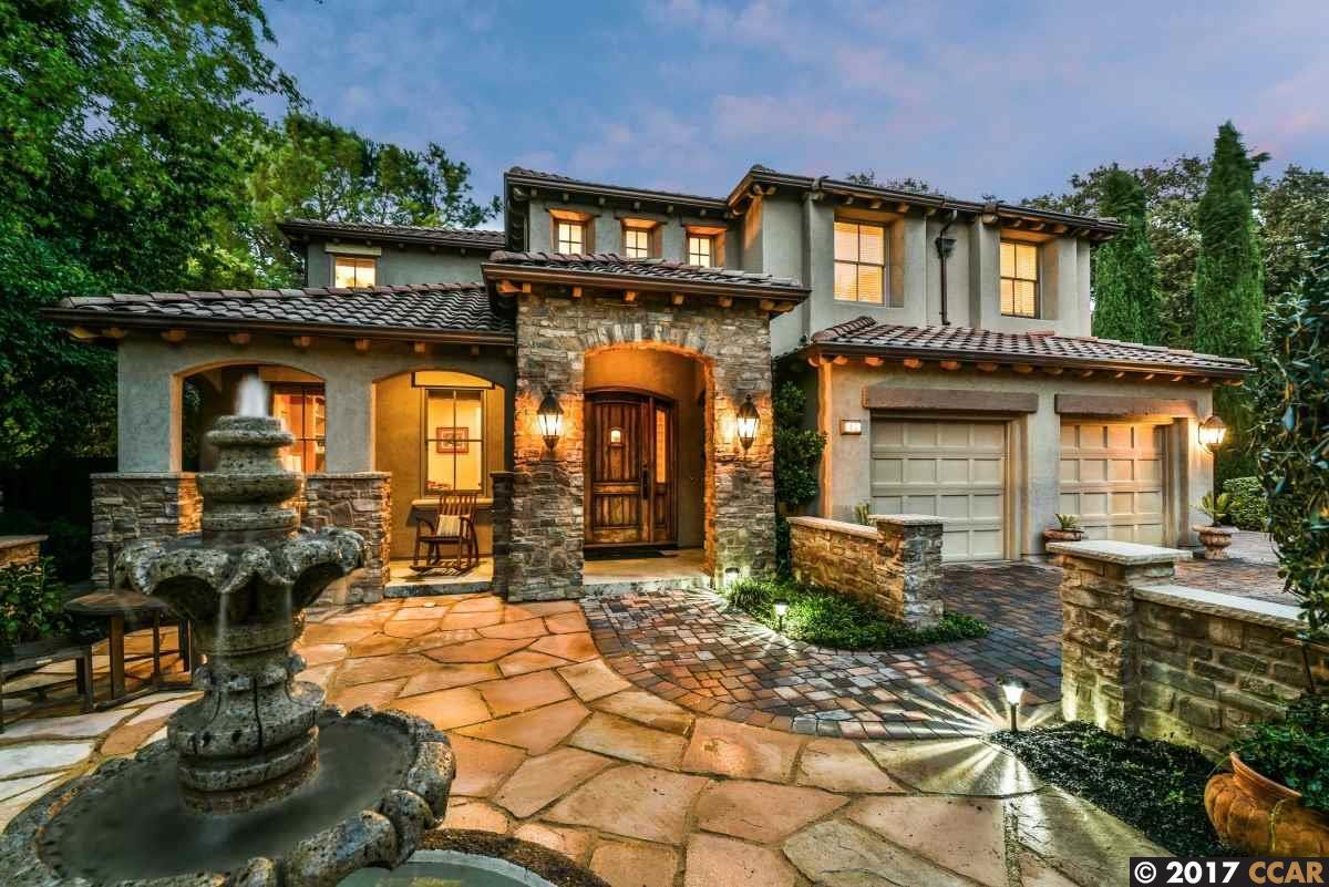 一戸建て のために 売買 アット 40 Dos Robles Court 40 Dos Robles Court Walnut Creek, カリフォルニア 94597 アメリカ合衆国