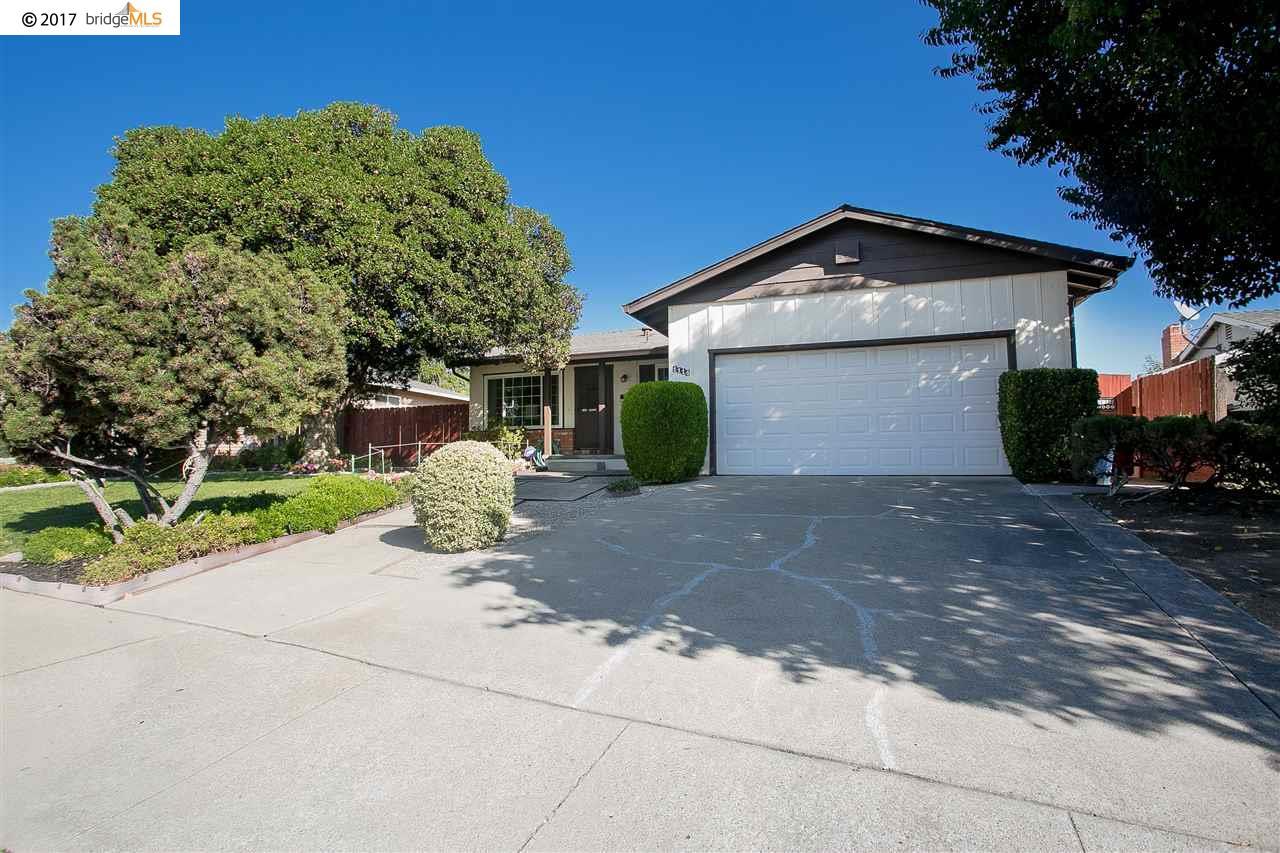 Частный односемейный дом для того Продажа на 1114 Saint Frances Drive 1114 Saint Frances Drive Antioch, Калифорния 94509 Соединенные Штаты