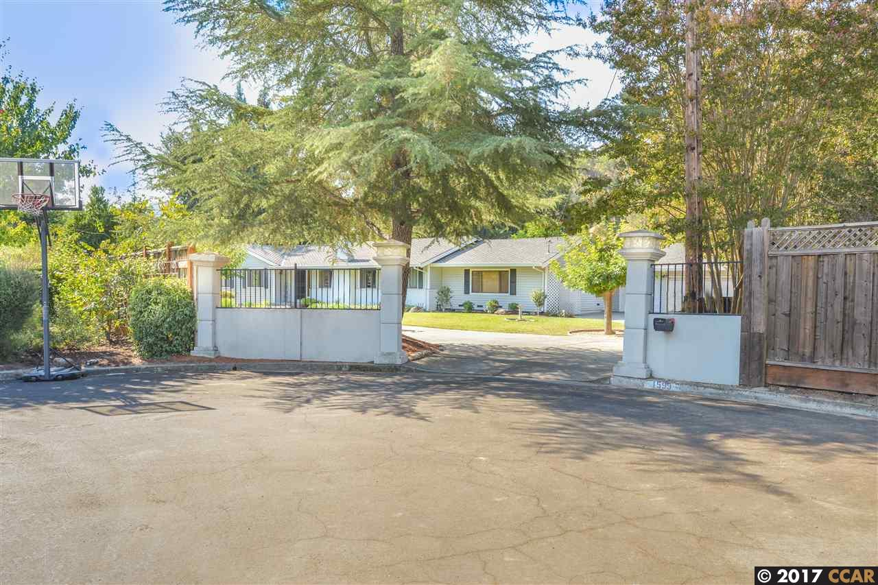 Single Family Home for Rent at 1599 Alamo Way 1599 Alamo Way Alamo, California 94507 United States