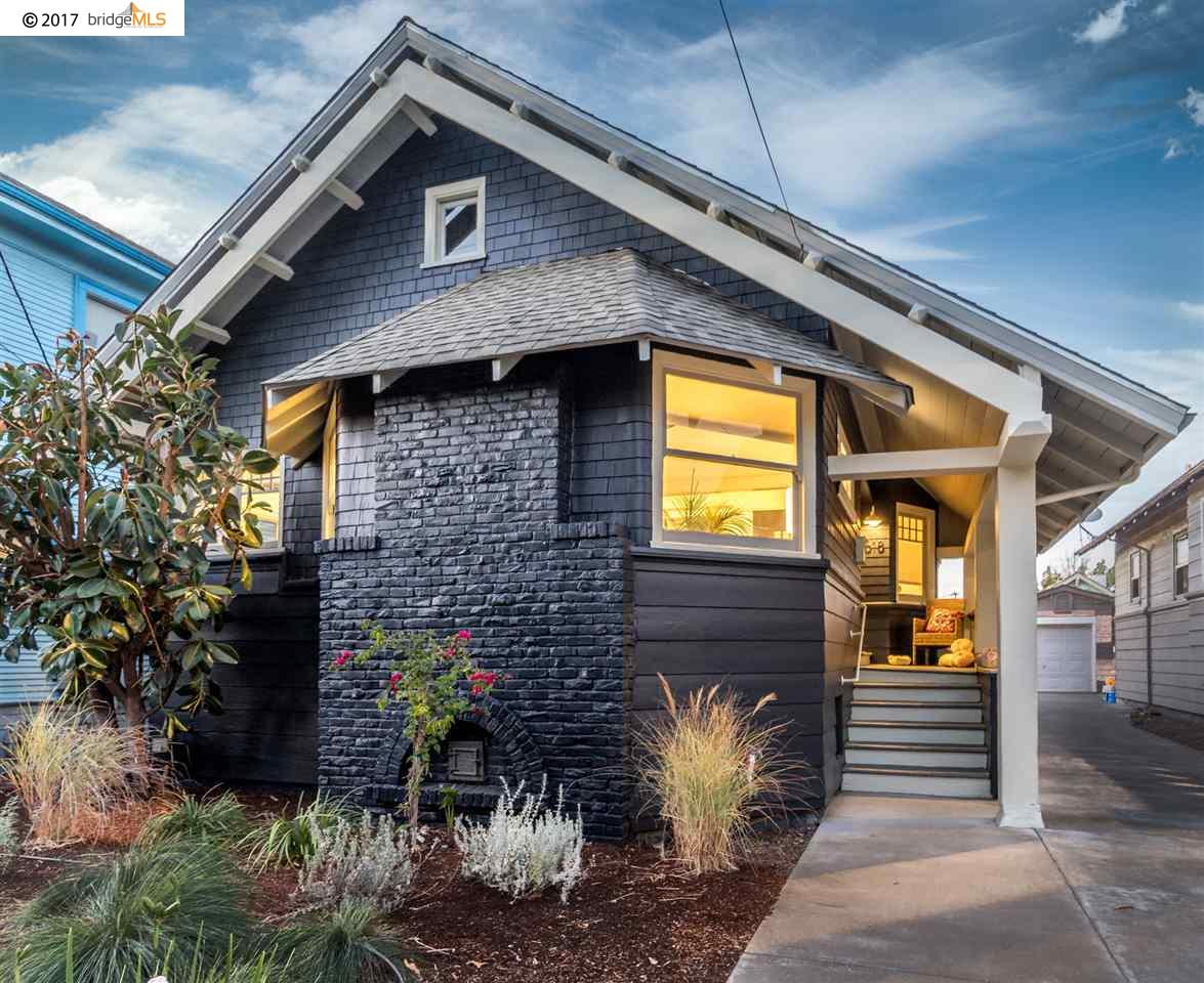 Single Family Home for Sale at 618 55Th Street 618 55Th Street Oakland, California 94609 United States