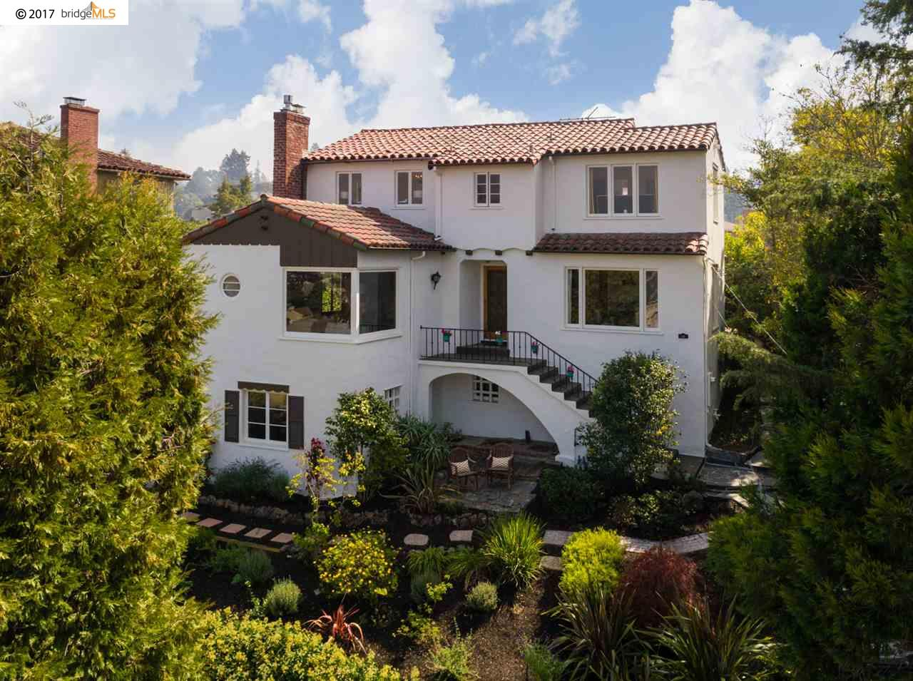 Single Family Home for Sale at 41 Sonia Street 41 Sonia Street Oakland, California 94618 United States