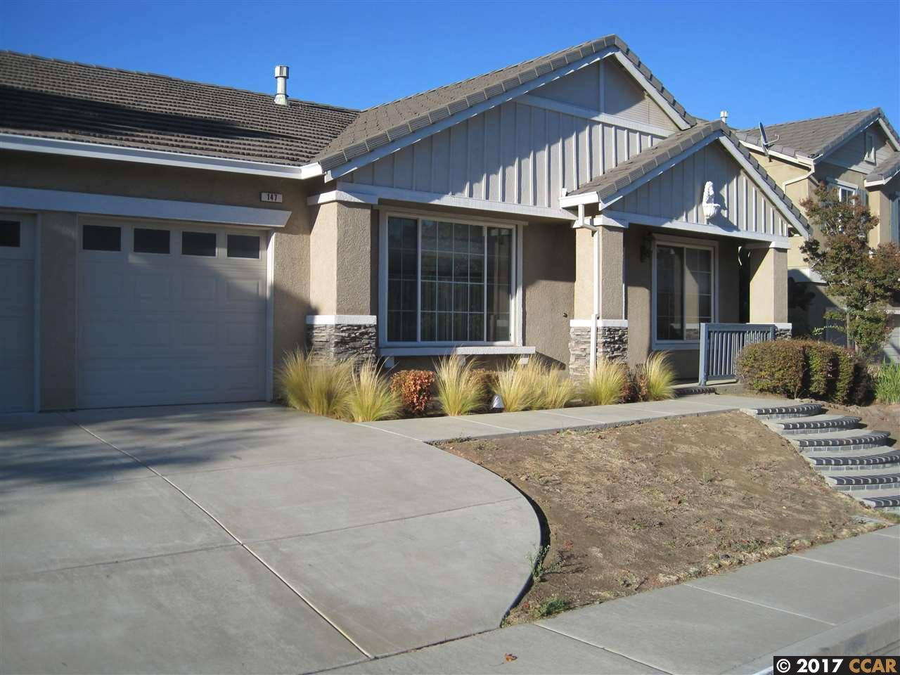獨棟家庭住宅 為 出租 在 147 Rangewood Drive 147 Rangewood Drive Pittsburg, 加利福尼亞州 94565 美國