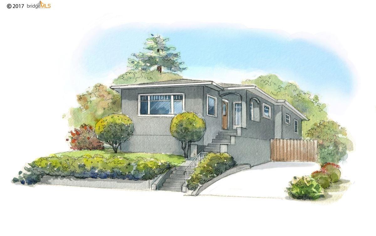 Casa Unifamiliar por un Venta en 4328 Leach Avenue 4328 Leach Avenue Oakland, California 94602 Estados Unidos
