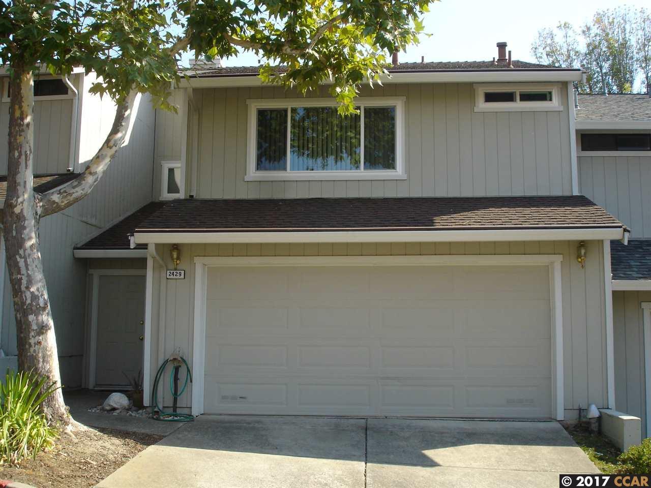 Maison accolée pour l Vente à 2429 Heatherleaf Lane 2429 Heatherleaf Lane Martinez, Californie 94553 États-Unis