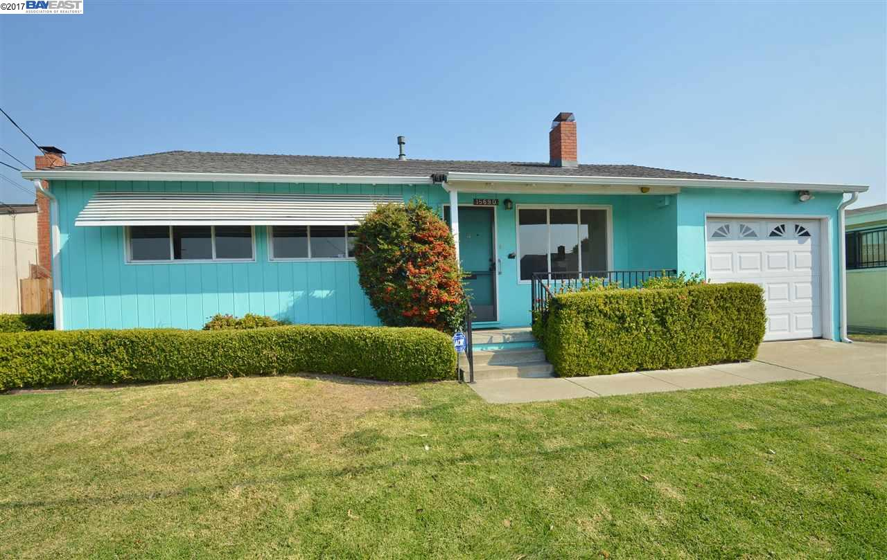 Single Family Home for Sale at 15690 Wagner Street 15690 Wagner Street San Lorenzo, California 94580 United States